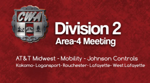 Division 2 Area 4 (Kokomo Area) Membership Meeting @ Kokomo Garage