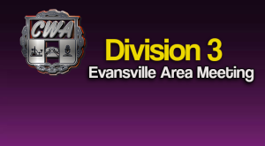 Division 3 (Evansville) Membership Meeting @ Via Conference Call: 1-888-363-4735