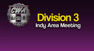 Division 3 (Indianapolis Area & Dexyp) Membership Meeting Via Conference Call @ Via Conference Call: 1-888-363-4735
